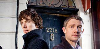 Sherlock e Watson, ovvero Benedict Cumberbatch e Martin Freeman, protagonisti di una delle più belle serie TV mistery