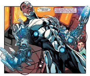 Cyborg, creato da Marv Wolfman e George Pérez