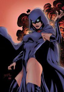La terribile e affascinante Raven, membro storico dei Teen Titans