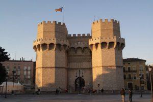 Le Torres de Serranos, simboli del Barrio del Carmen di Valencia