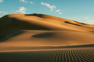 Il deserto Gobi, in Mongolia