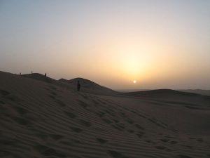 Il deserto di Rub' al-Khali, il secondo più grande del mondo se si considerano quelli di sabbia (foto di Ljuba brank via Wikimedia Commons)