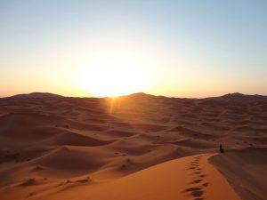 Il deserto del Sahara in Marocco