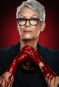 Jamie Lee Curtis in una foto promozionale per Scream Queens