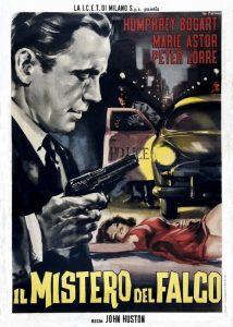 Il mistero del falco, con Humphrey Bogart