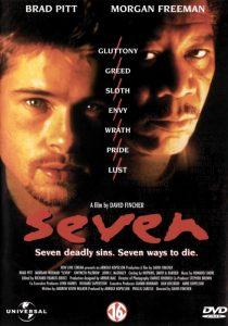 Seven, con Brad Pitt e Morgan Freeman