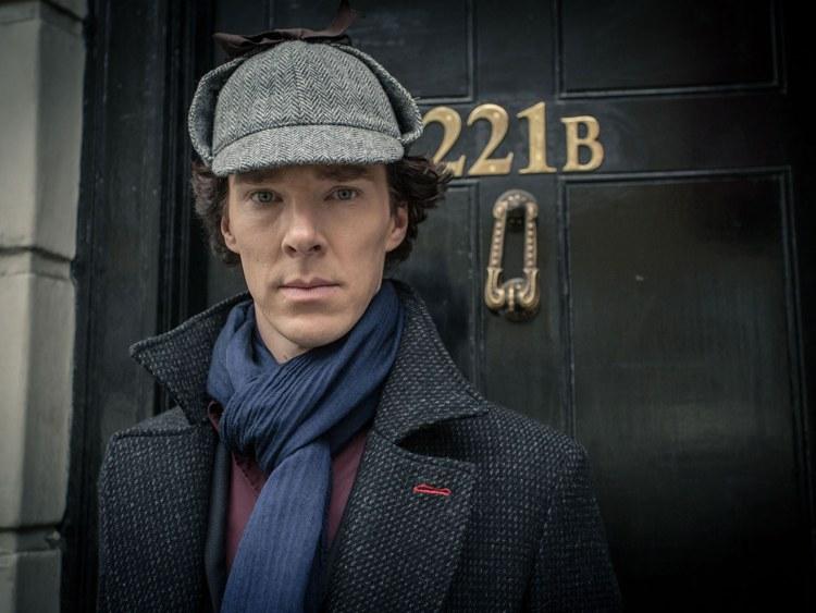 Benedict Cumberbatch, il più celebre attore ad aver interpretato Sherlock Holmes alla TV inglese