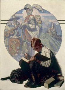 Lands of Enchantment di Norman Rockwell, il quadro preferito di George Lucas appartenente alla sua collezione