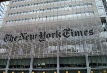 La sede del New York Times – grande e storico giornale di New York – progettata da Renzo Piano