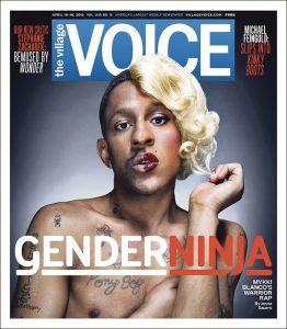 Una delle copertine del Village Voice