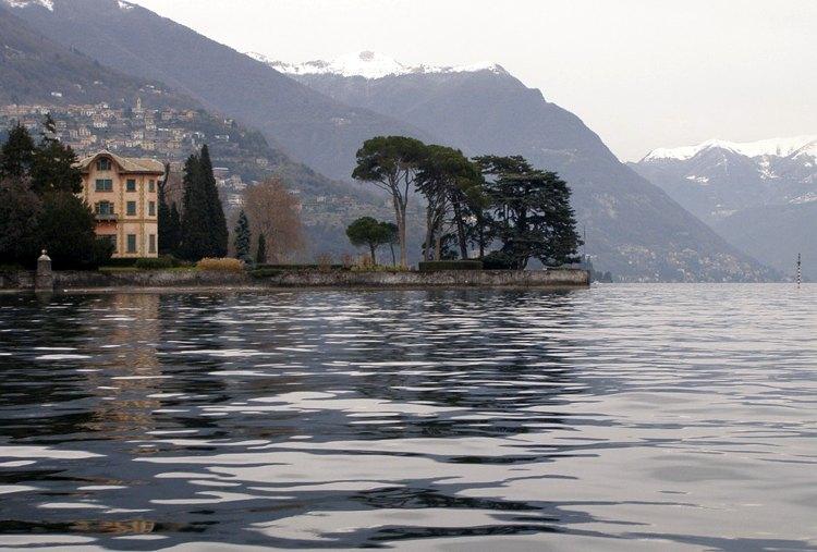 Una bella veduta sul lago di Como