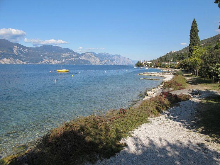 Il Lago di Garda, il più grande e importante in Italia