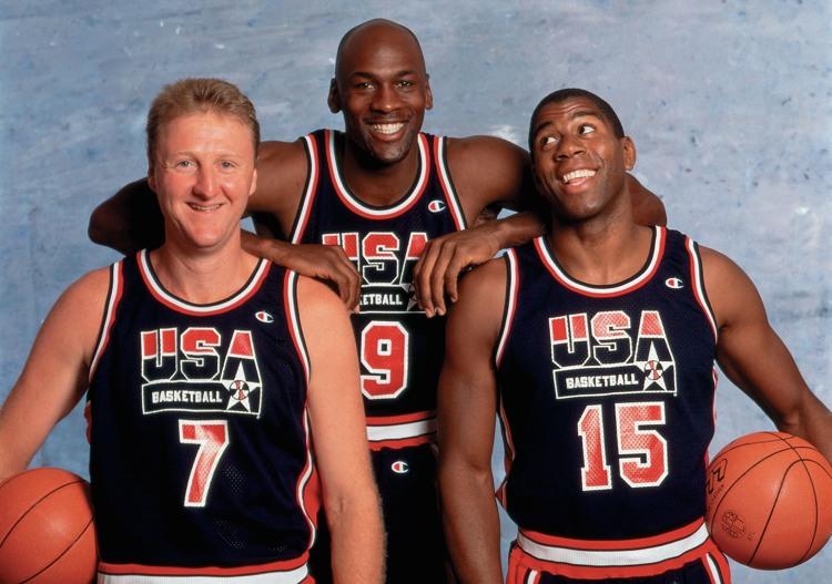 Larry Bird, Michael Jordan e Magic Johnson, protagonisti di alcuni tra i più bei libri sul basket
