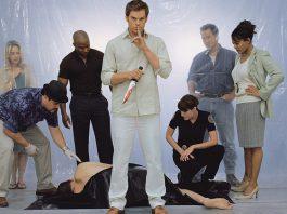 Dexter e gli altri personaggi che hanno fatto parte del cast della serie TV