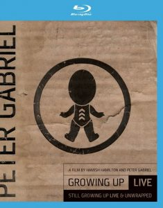 Growing Up Live, DVD che di un concerto milanese di Peter Gabriel
