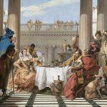 Il banchetto di Cleopatra così come immaginato dal Tiepolo nel '700