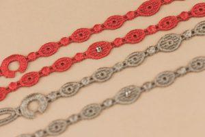 I braccialetti in macramè realizzati da CBM