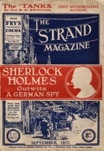 Lo Strand Magazine contenente L'ultimo saluto