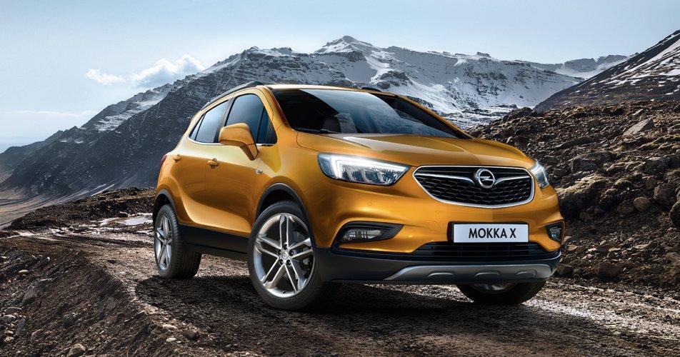 La nuova versione X della Opel Mokka