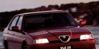 L'Alfa Romeo 164 Quadrifoglio, una delle auto sportive più belle degli anni '90
