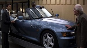 La BMW Z3 alla sua prima comparsa in GoldenEye