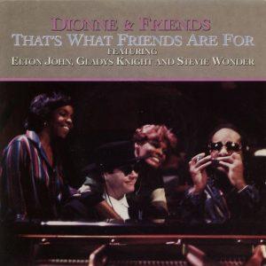 La copertina del singolo inciso da Dionne Warwick, Stevie Wonder, Elton John e Gladys Knight