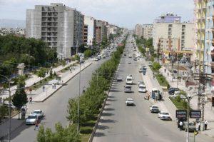 Il centro di Batman, non l'eroe ma la città turca