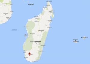 La posizione di Gogogogo in Madagascar