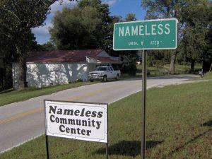 Nameless in Tennesse, una delle città coi nomi più strani (foto di Brian Stansberry via Wikimedia Commons)