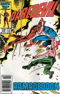 Capitan America e Devil disegnati da Frank Miller