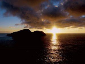 Porto Santo al tramonto