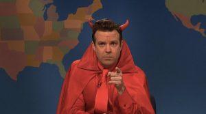 Sudeikis nei panni del Diavolo al Saturday Night Live