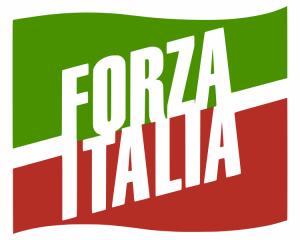 Lo stemma di Forza Italia