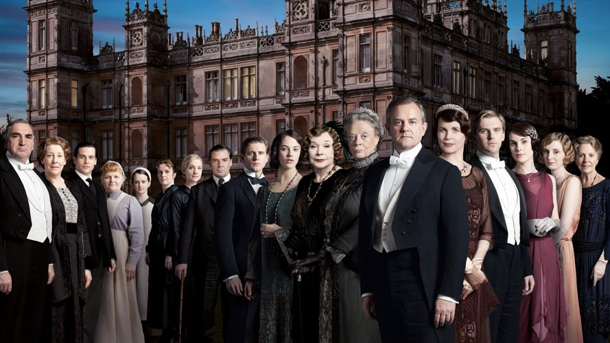 Tutti i personaggi principali di Downton Abbey