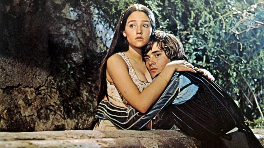 Giulietta e Romeo nella versione di Zeffirelli