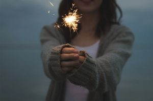 I veri fuochi d'artificio si fanno con poche cose, anche con una festa a sorpresa