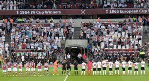 Una recente gara del West Ham United all'Olympic Stadium di Londra (foto di Egghead06 via Wikimedia Commons)