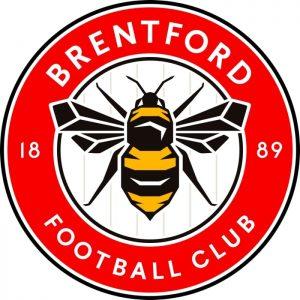 Lo stemma del Brentford