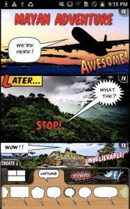 Comic Book!, una delle più famose app per creare fumetti