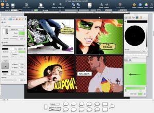 Comic Life su computer desktop