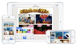 Strip Designer funziona su tutti i dispositivi Apple