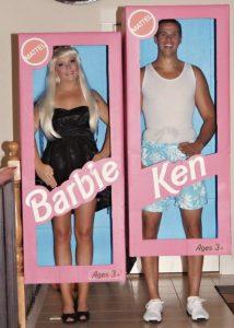 Barbie e Ken, una coppia perfetta per Carnevale (foto di Sarah Pasley via wtfpinterest.com)