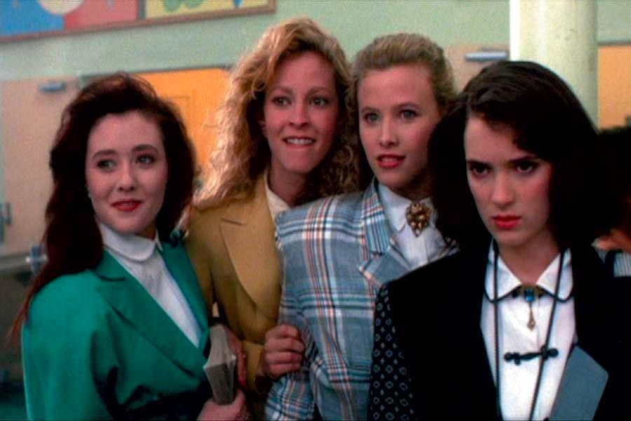 Le protagoniste di Schegge di follia, tra cui Shannen Doherty e Winona Ryder