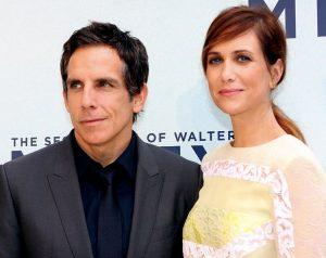 Kristen Wiig con Ben Stiller alla presentazione di I sogni segreti di Walter Mitty (foto di Eva Rinaldi via Flickr)