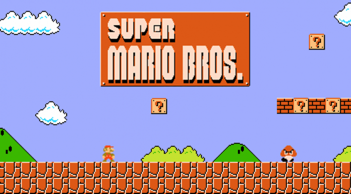 Super Mario Bros., uno dei giochi più classici degli anni '80