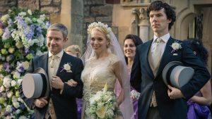 Una scena de Il segno dei tre, bell'episodio della serie Sherlock