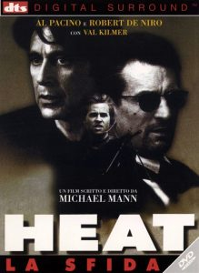 Heat, con Robert De Niro e Al Pacino