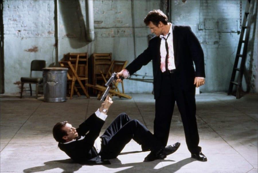 Una celebre scena de Le iene di Quentin Tarantino