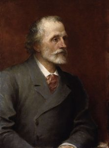 George Meredith ritratto da George Frederic Watts