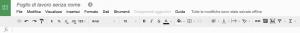 Come si presenta un file Google Drive durante la modifica offline